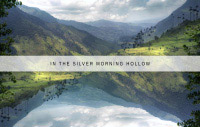 in the silver morning hollow